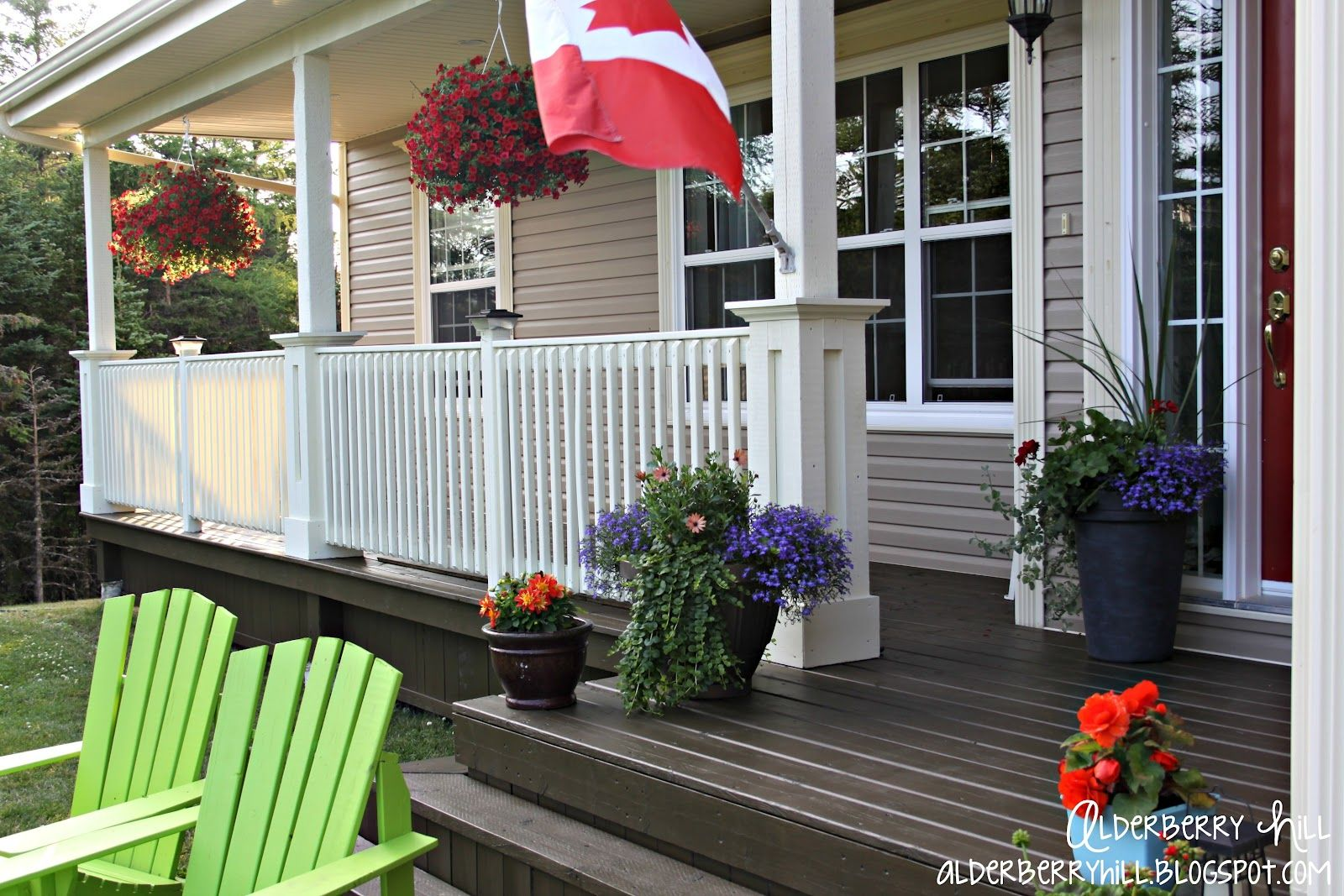Brown Painted Deck | Hello there! If you are new here, you might want to subscribe to the ...