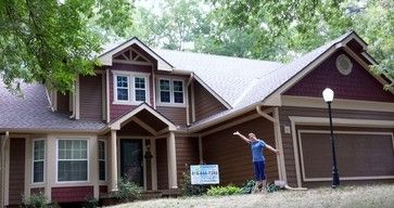 Designed With James Hardie Fiber Cement Cedar Mill Pre Colored Chestnut Brown Horizontal Siding