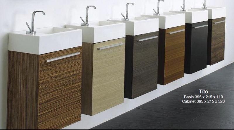 Wall hung vanity unit (single door) includes main vanity ...