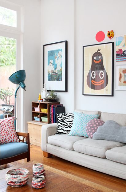 Love the mix.   Sillies for days   Pinterest   Living rooms, Room ...