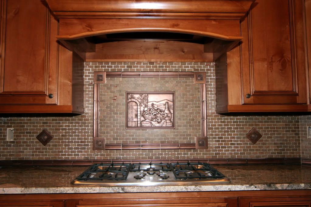 kitchenbacksplash kitchen decor with copper tuscan