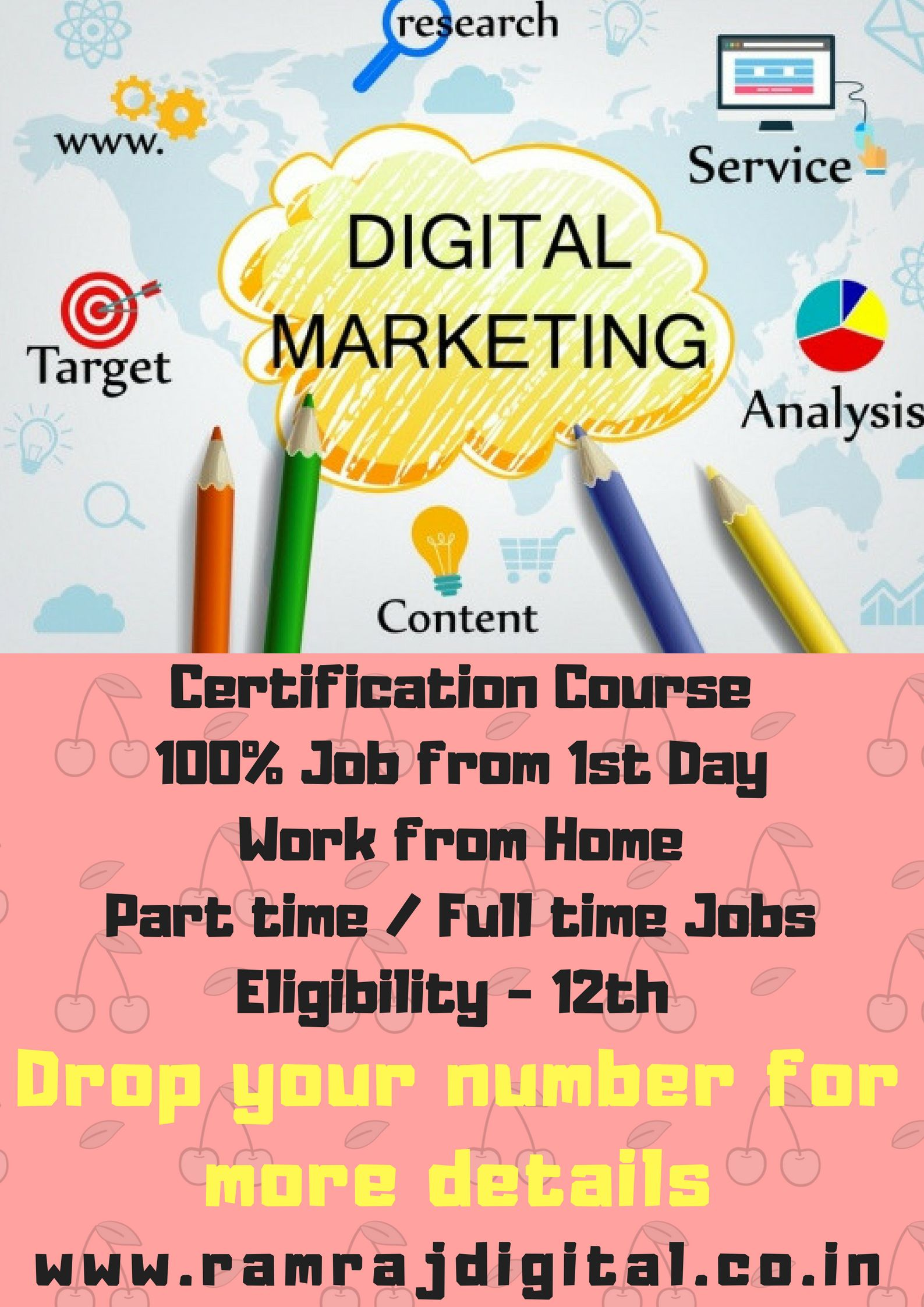 Digital marketing course ➕ Complemantary job from 12st day Ramraj ...