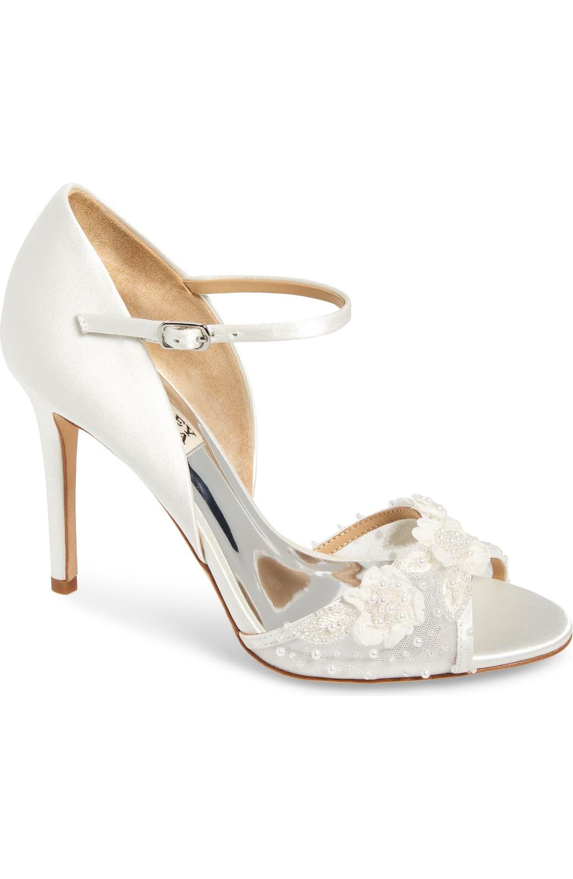 Badgley Mischka Carter Beaded Pump Women Nordstrom In 2020 Badgley Mischka Shoes Wedding Women S Pumps Stiletto Heels
