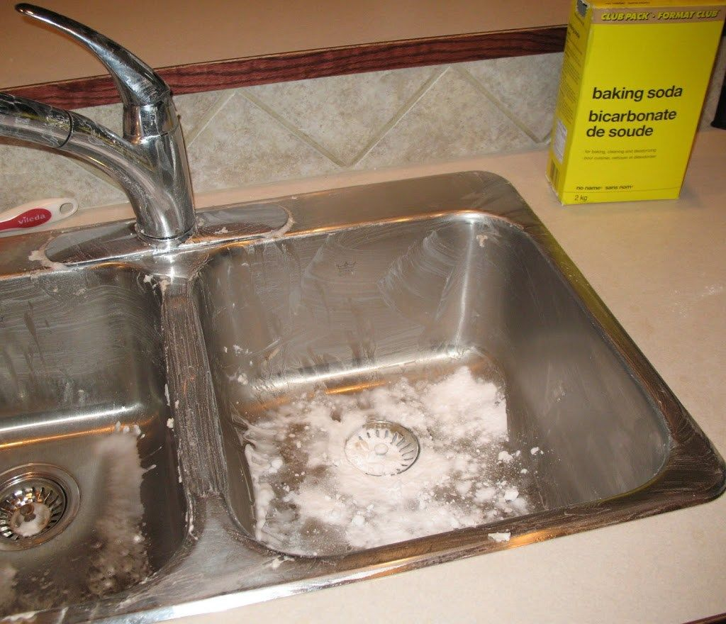 How To Clean And Polish A Stainless Steel Sink With Images