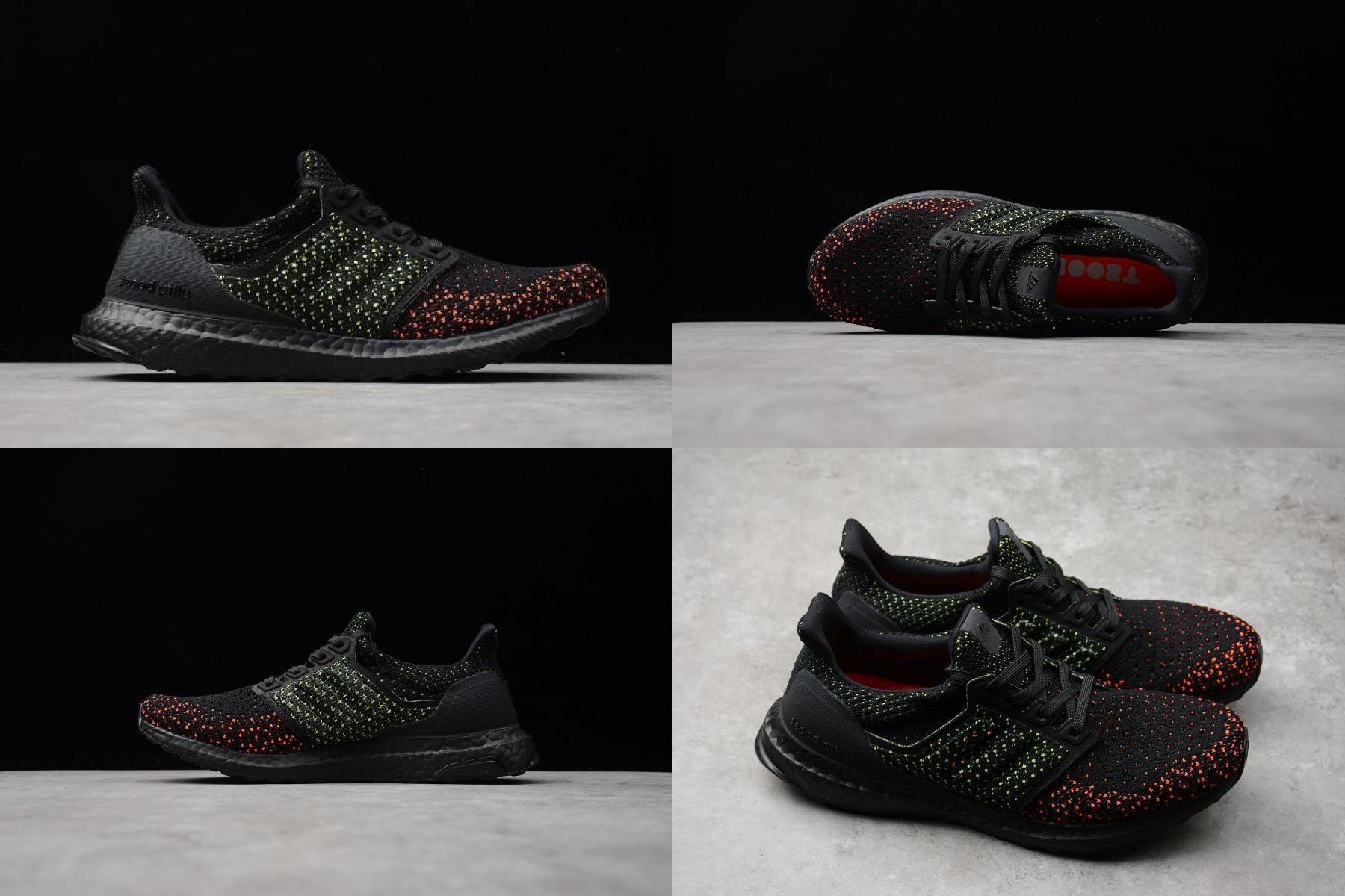 Adidas Ultra Boost Clima 4 0 Core Black Solar Red Aq0482 In 2020