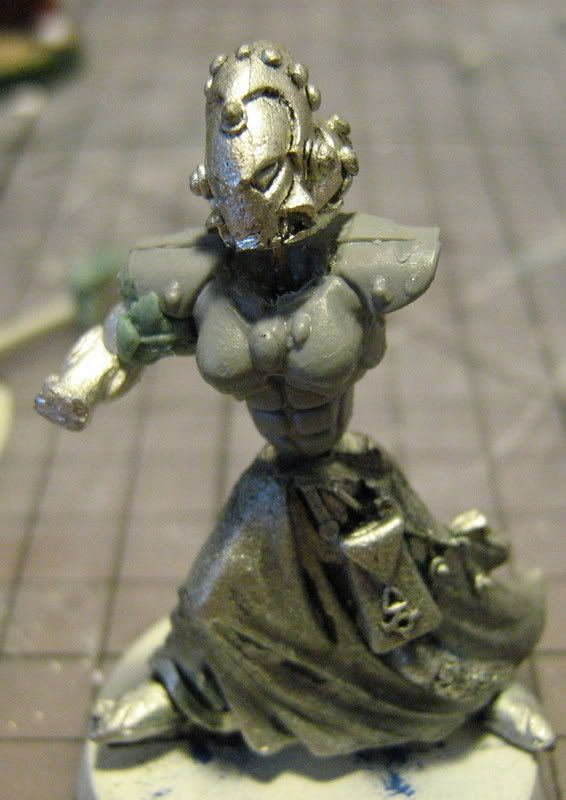 Macha Female Farseer From Dawn Of War Conversion Pack