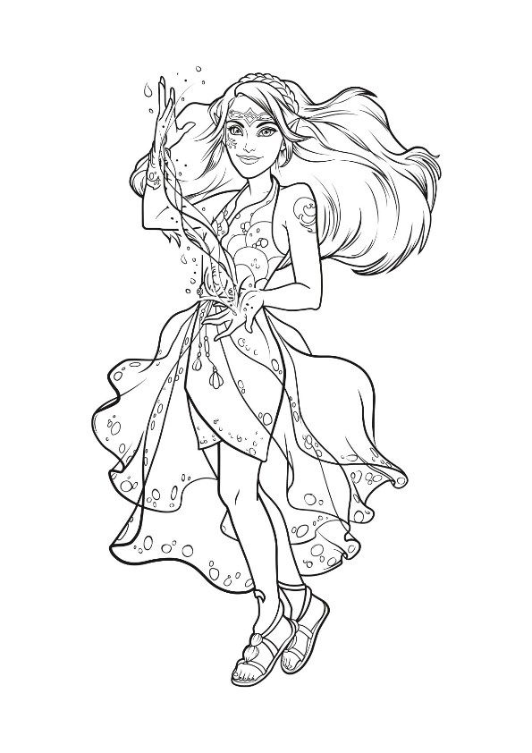 Kids N Fun 9 Coloring Pages Of Lego Elves Witch Coloring Pages Dog Coloring Page Coloring Pages For Girls