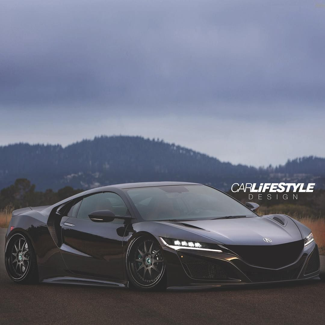 "CARLiFESTYLE On Instagram: ""Slammed NSX On @agwheels"