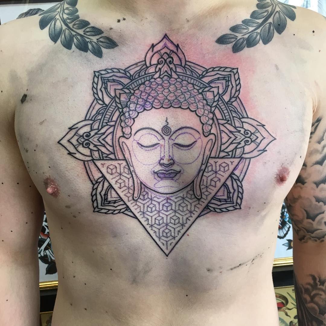 Chest Buddha Tattoo Design Jpg 1080 1080