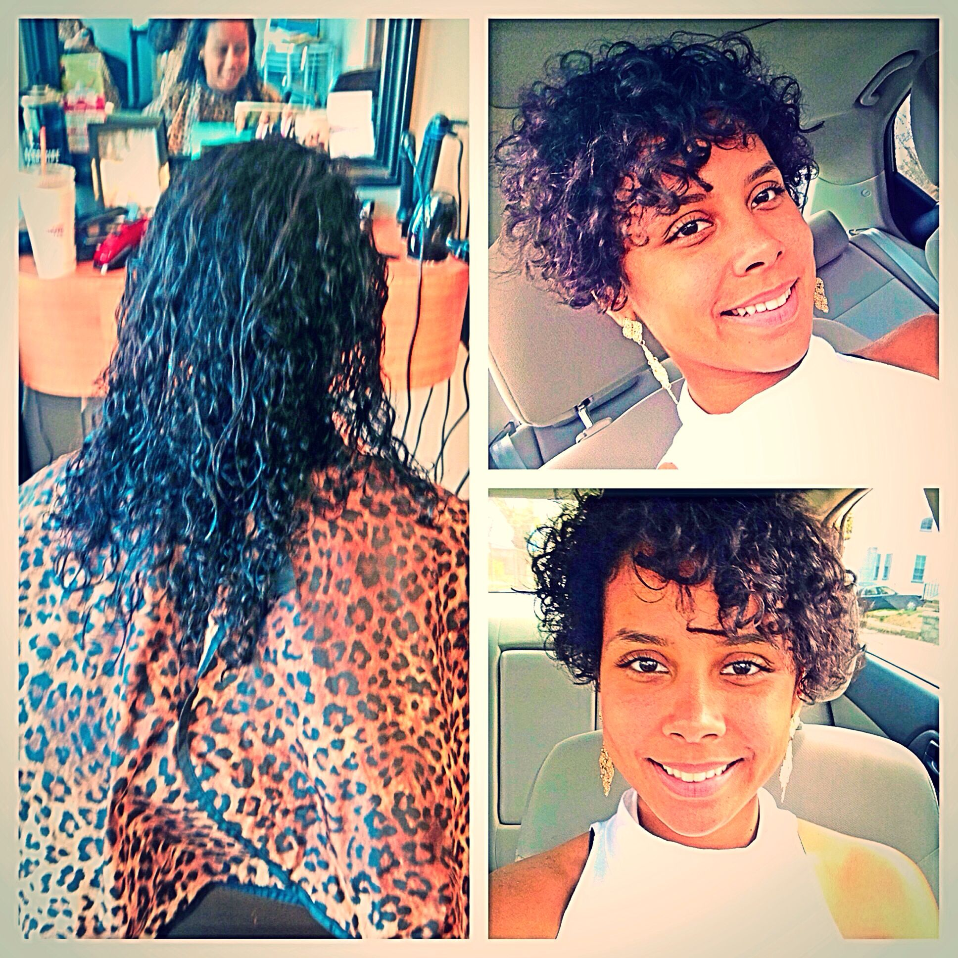 The Big Chop Short Hair Styles Alicia Keys Inspired Curly