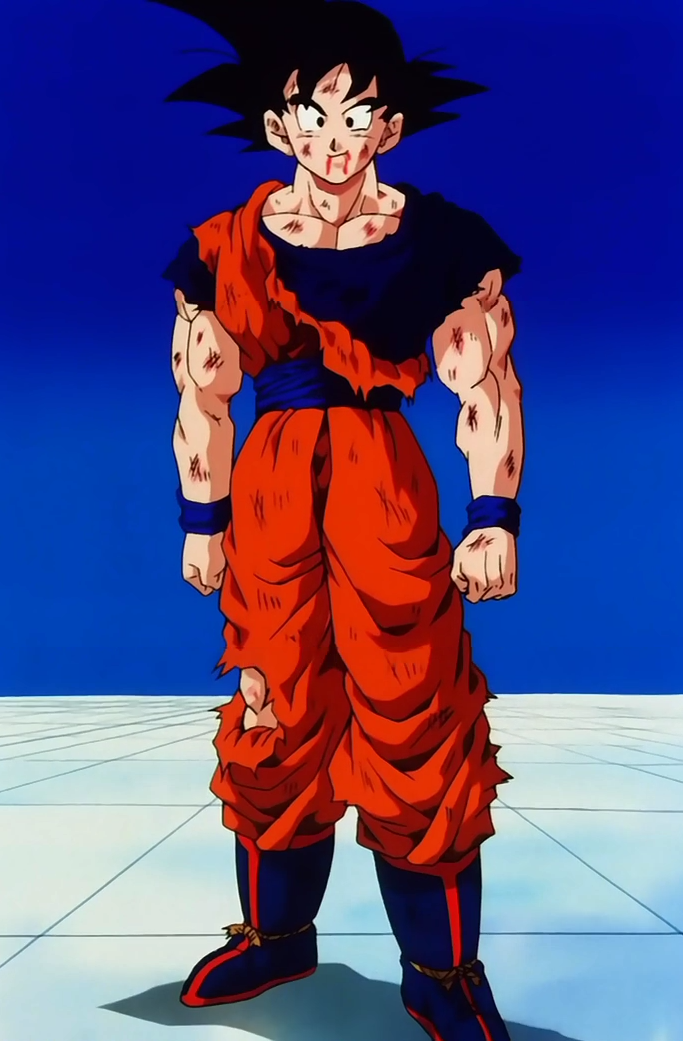 goku battle damaged wwwimagenesmicom