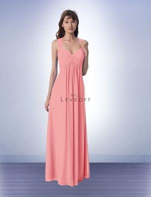 f3b3080d25bc Bridesmaid Dress Style 984 - Bridesmaid Dresses by Bill Levkoff - NEW at  #EvalinesBridal! www.evalinesbridal.com