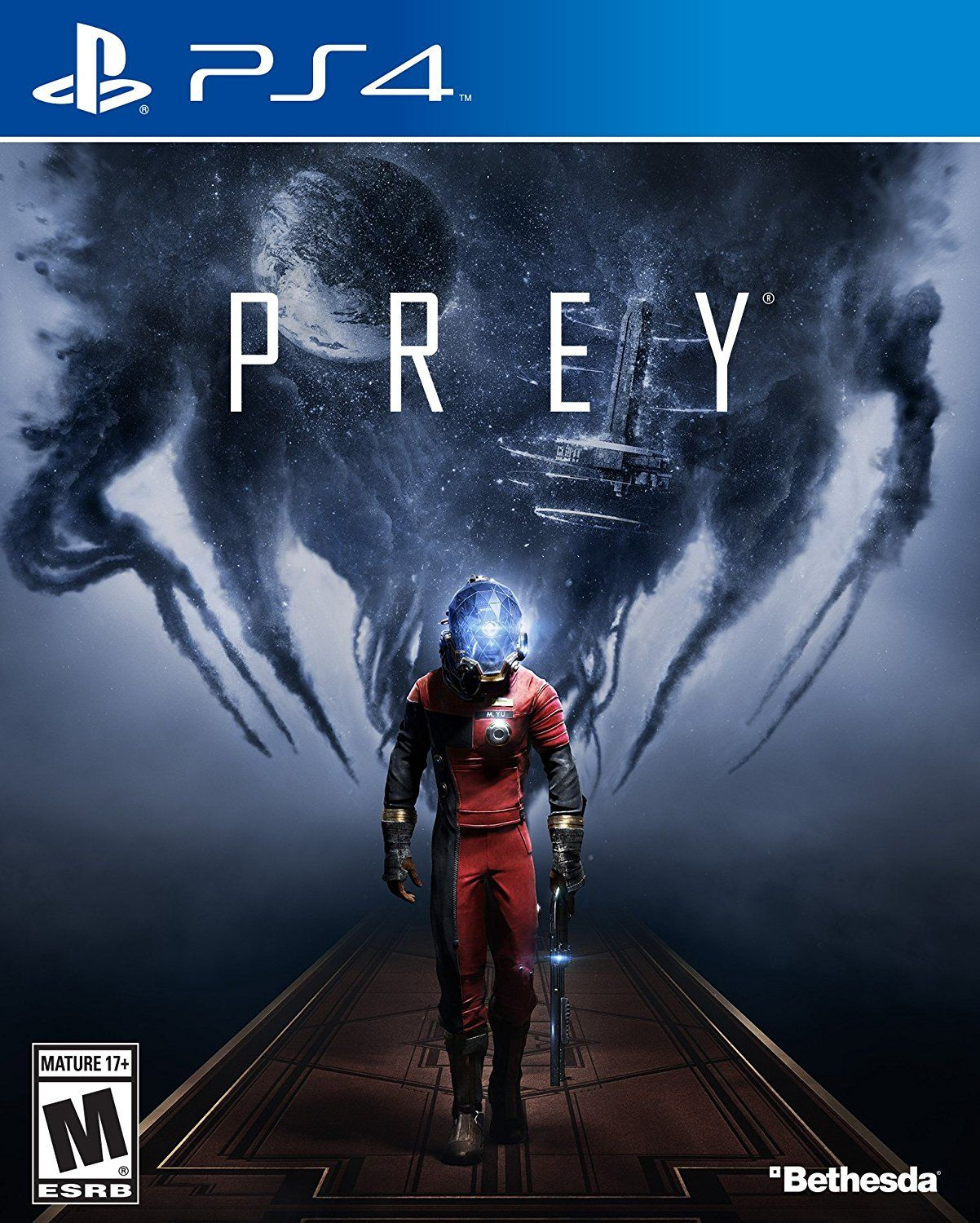 Prey (2017) Game Cover PS4 | Video Games | Ps4 games, Xbox one games