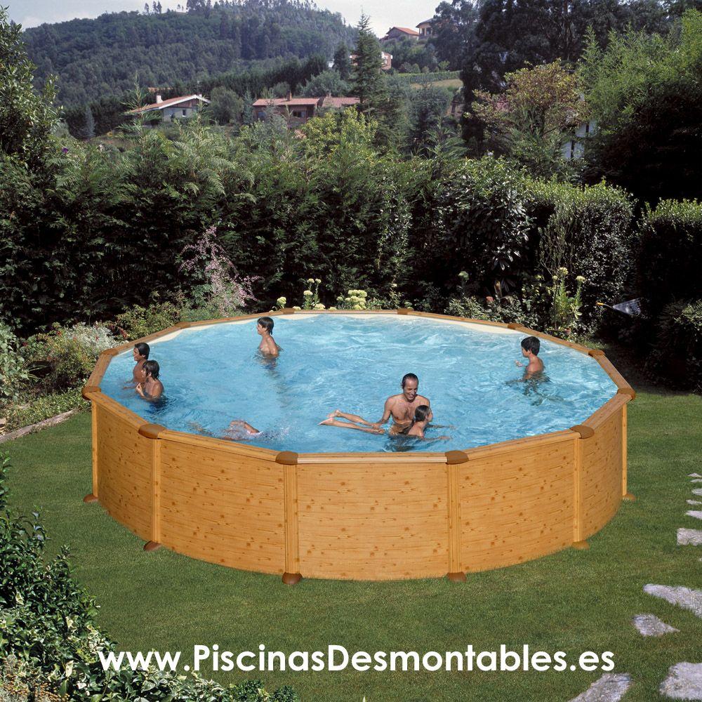 Las piscinas de imitaci n a madera de gre llevan el - Fabricante de piscinas ...