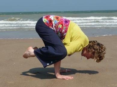 Trainer-coach Ann Baeyens van Wake Up and Move -  www.wakeupandmove.eu