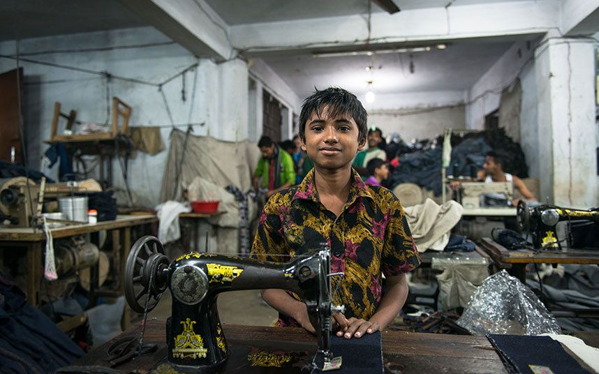 Beyond the label: Photographer documents garment industry in ...