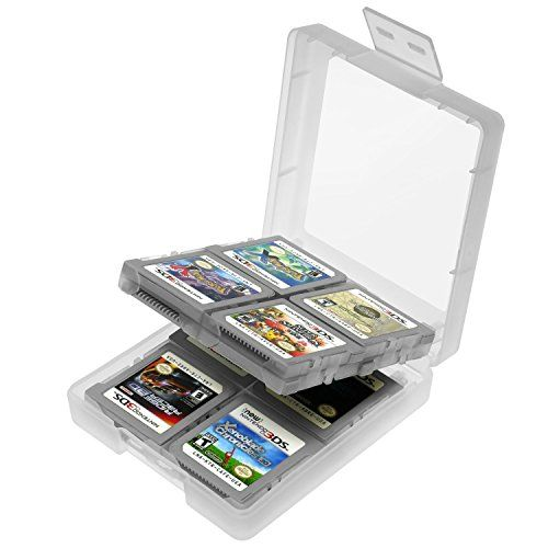 Insten White Game Card Case For Nintendo 3DS DS DS Lite