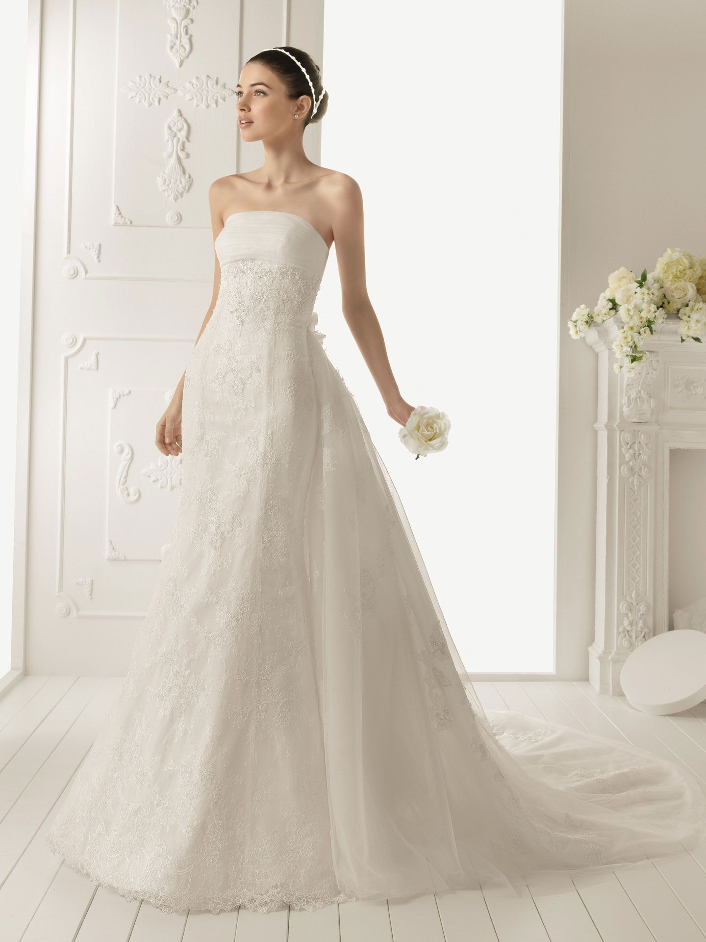 wedding dresses with cathedral trains Wedding Dress