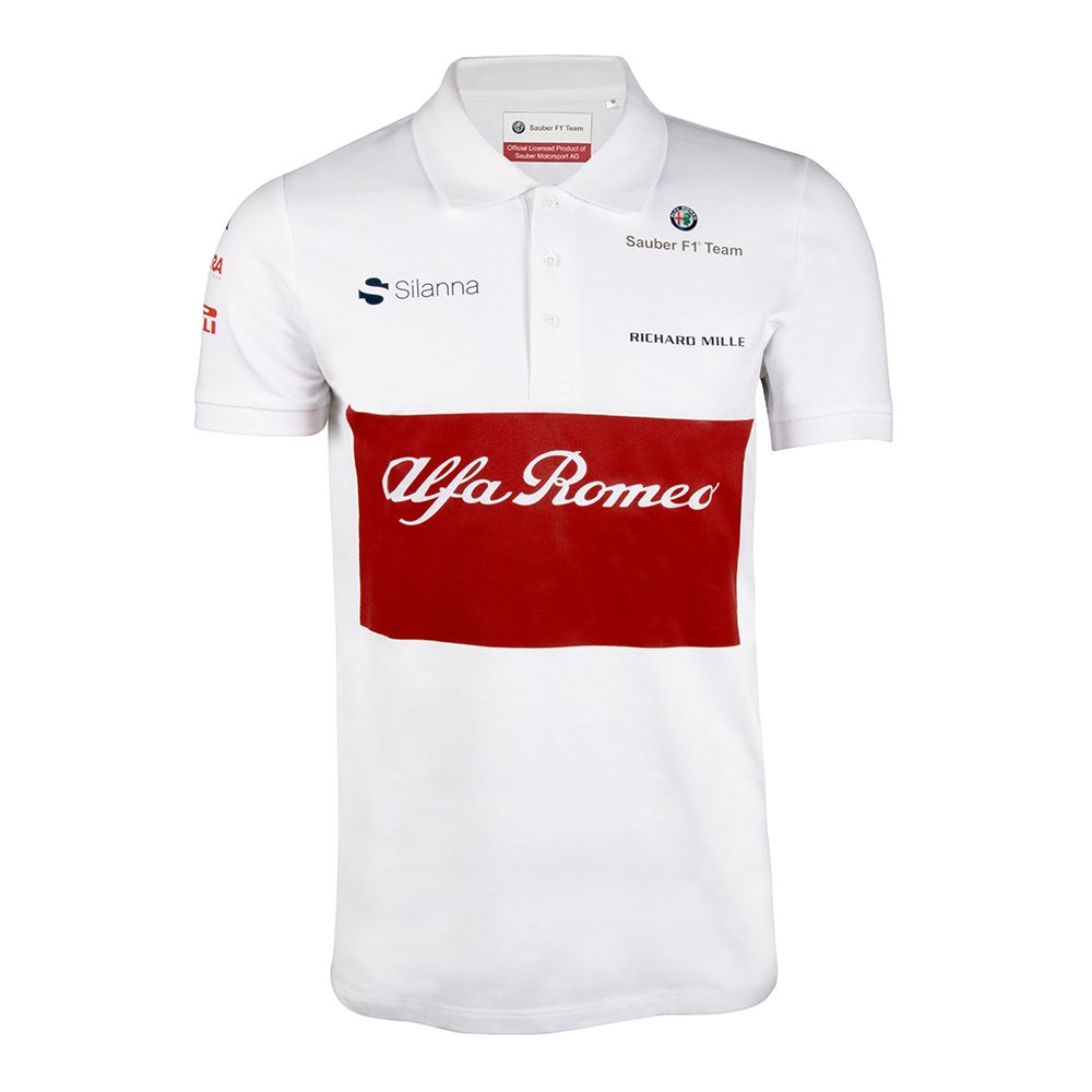alfa romeo sauber f1 team 2018 camisetas fn pinterest. Black Bedroom Furniture Sets. Home Design Ideas