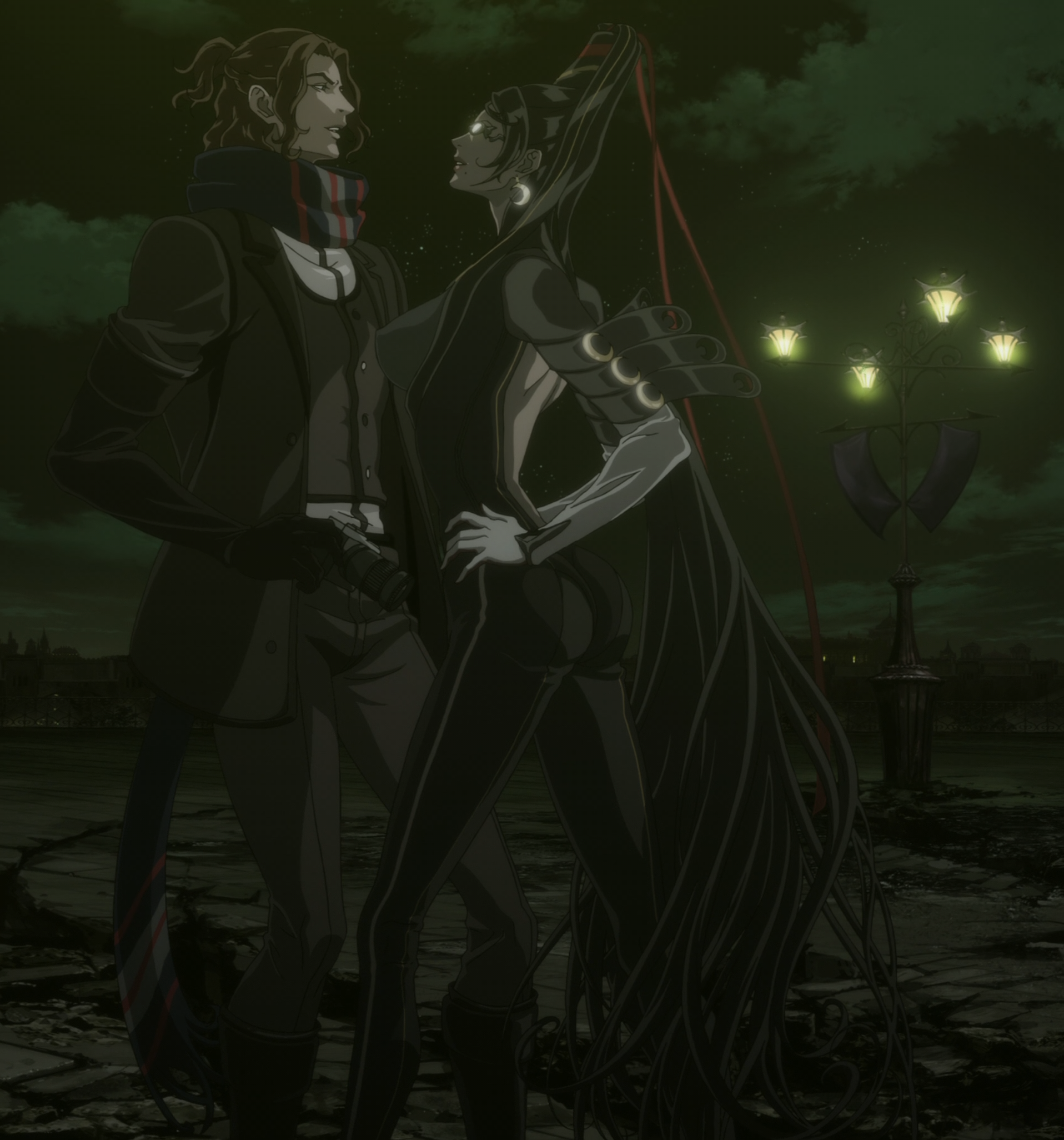 Bloody Fate flirting with Luka