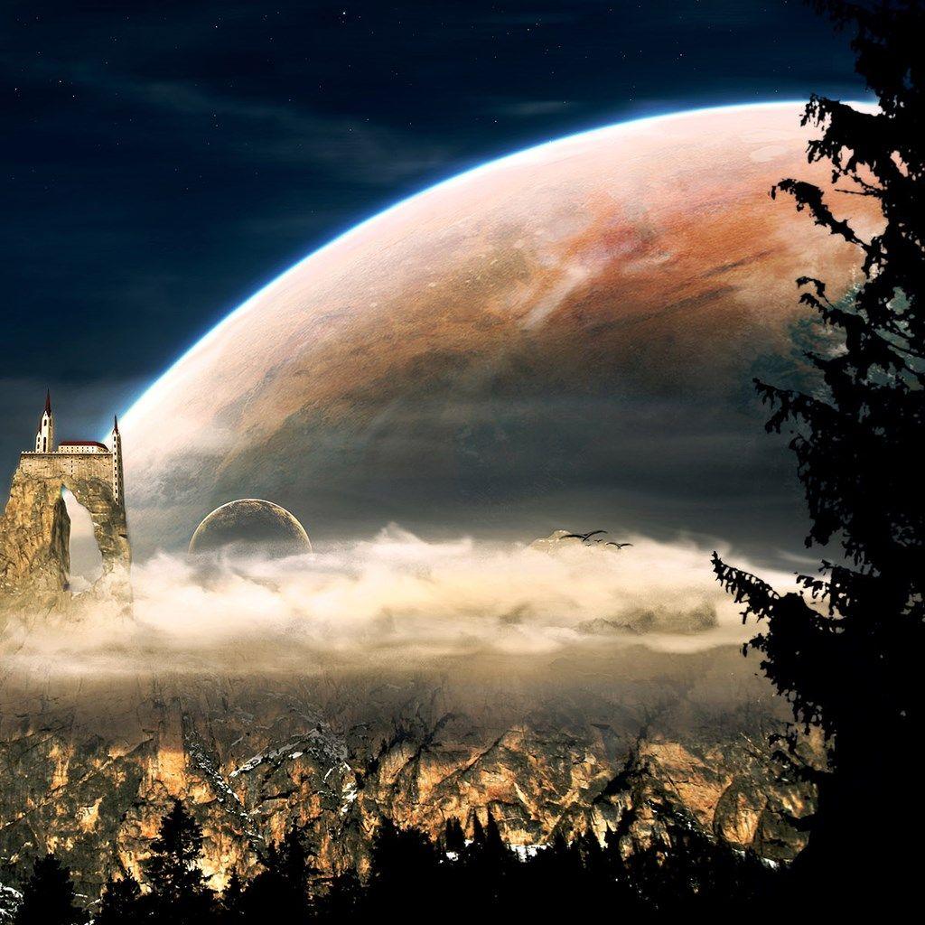 Fantasy Landscape Wallpaper: 3-D ANIMATION ( GRAND VISION