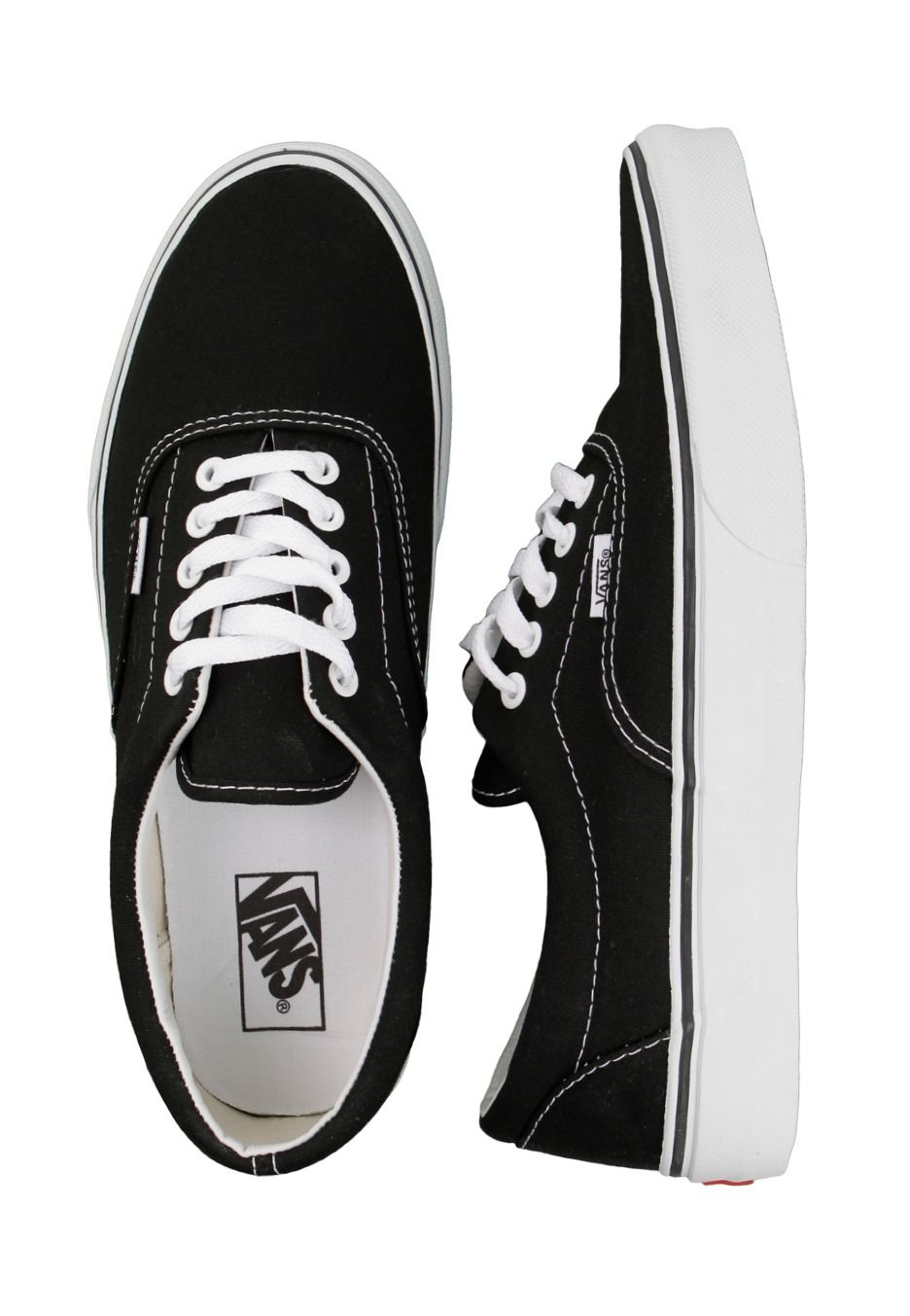 Vans - Era Black White - Shoes - Official Streetwear Online Shop -  Impericon.com UK 7f71332e59