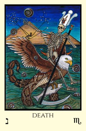 Image result for tabula mundi tarot death card