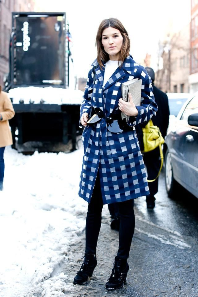 The Statement Coat: Printed Coats