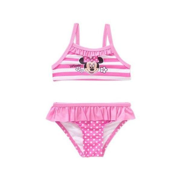 beee67f6fa7e9 Minnie Mouse Newborn Baby Girl Bikini Swimsuit Walmart.com featuring  polyvore