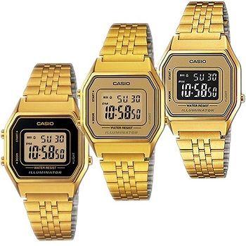 4ed4f3ffb1b4 Relojes Casio dorado de mujer baratos  relojes  casio  relojesmujer
