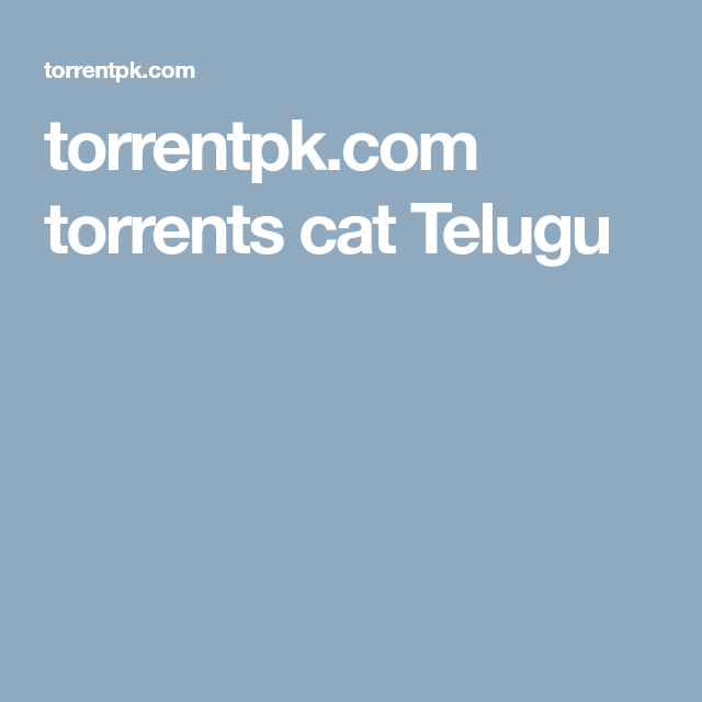 torrent telugu movie download sites