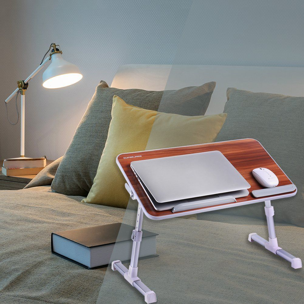 Portable Laptop Table by Superjare 23.99! Portable