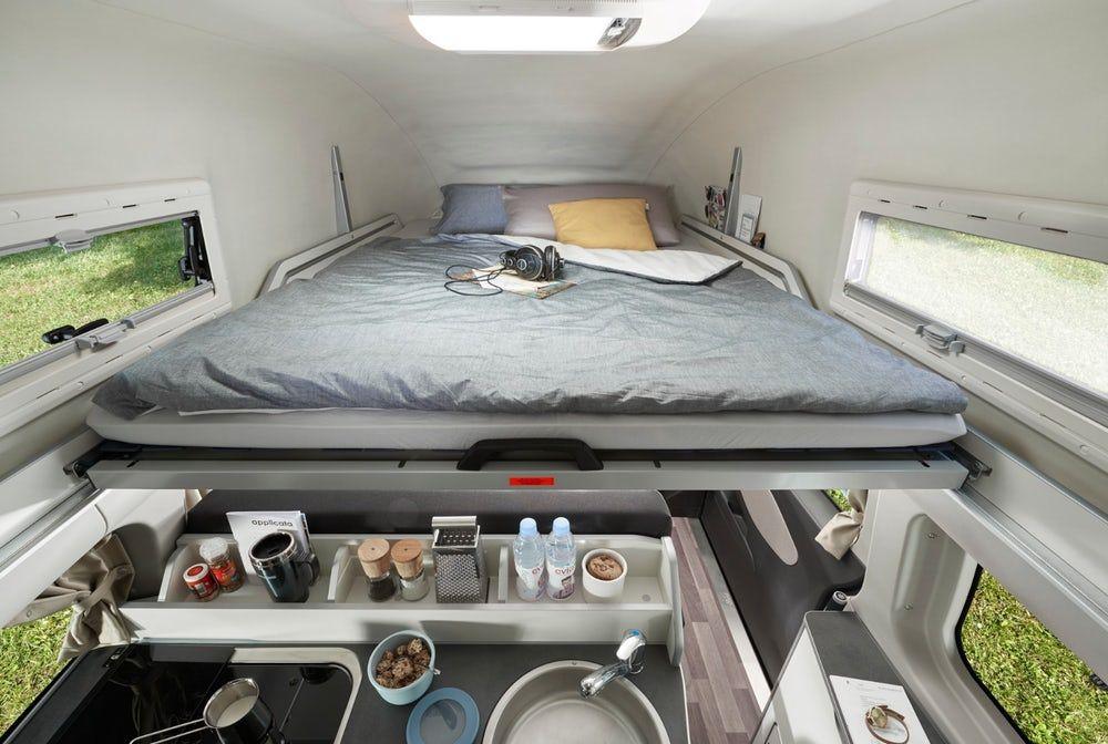 Westfalia Squeezes A Private Toilet Into Its Latest Ford Transit Camper Van Nuggets Casa Rodante Furgoneta