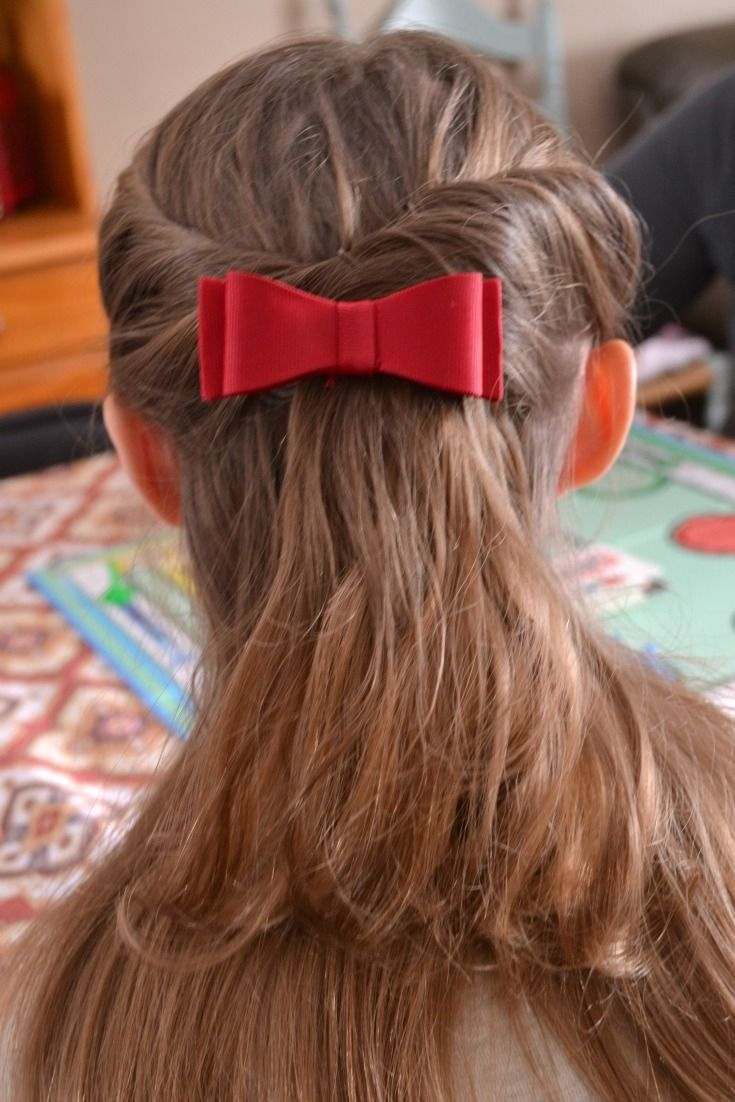 Easy beautiful holiday hair the twist holidays and holiday hair