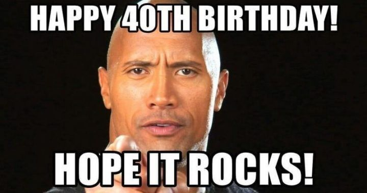 101 Funny 40th Birthday Memes to Take the Dread Out of ...