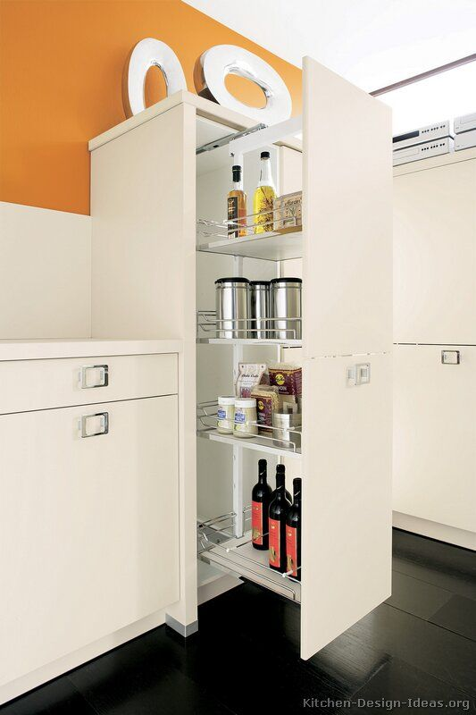 Pull Out Pantry Alno White Modern Kitchen Kitchen Cabinet Styles Modern Pantry Cabinets