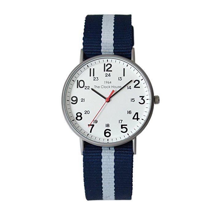[ザ・クロックハウス] THE CLOCK HOUSE 腕時計 カジュアルシリーズ MCAMY1607-01 メンズ