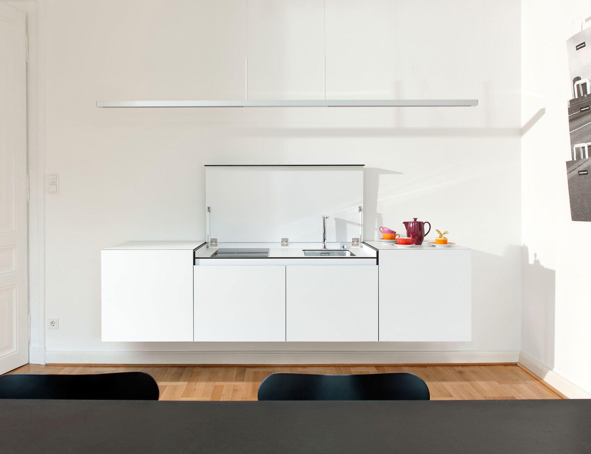 Ambienti Ikea Cucina miniki, minimalist hideaway kitchen | minimal kitchen design