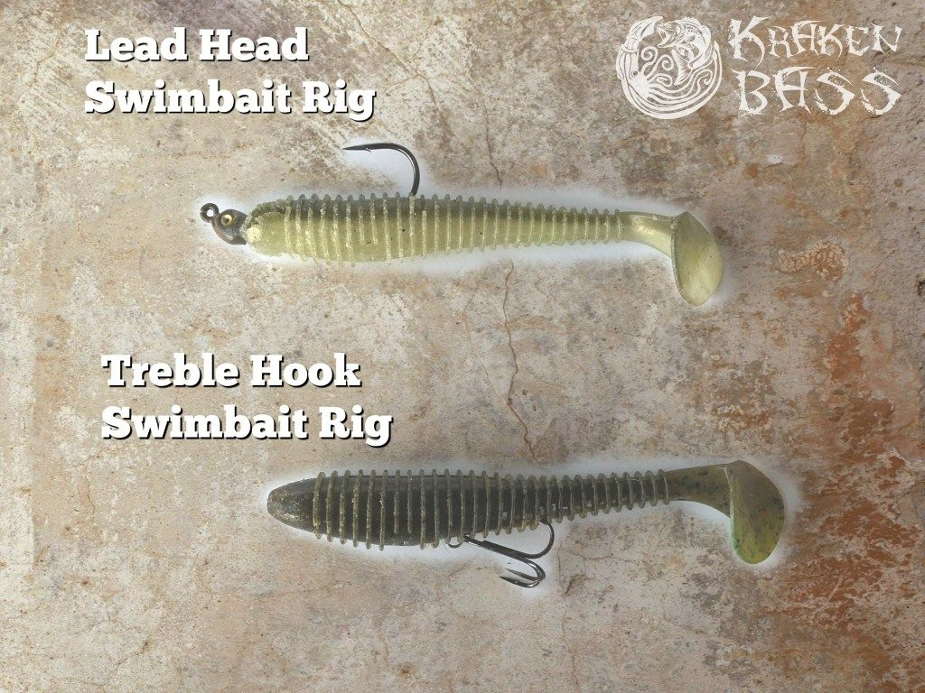 Two Of The Best Swimbait Rigs For Bass Fishing Check Out How To Get Set Up For Swimbait Fishing On The Blo Fishing Techniques Bass Fishing Bass Fishing Tattoo