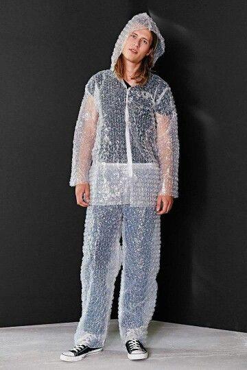 Bubble Wrap Accident Prone Suit Bubble Wrap Suit Bubble