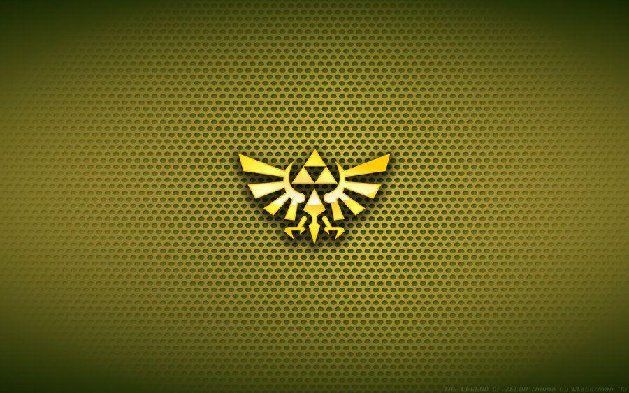 Wallpaper The Legend Of Zelda Hyrule Logo Legend Of Zelda Hd Wallpaper Iphone Wallpaper