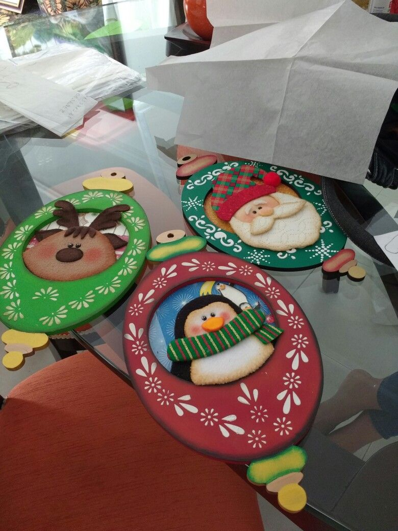Projects Diy Christmaschristmas Ornamentswoodpainted