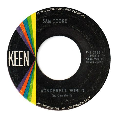 Center Of Attention | The Art Of Record Center Labels | Sam Cooke – Wonderful World