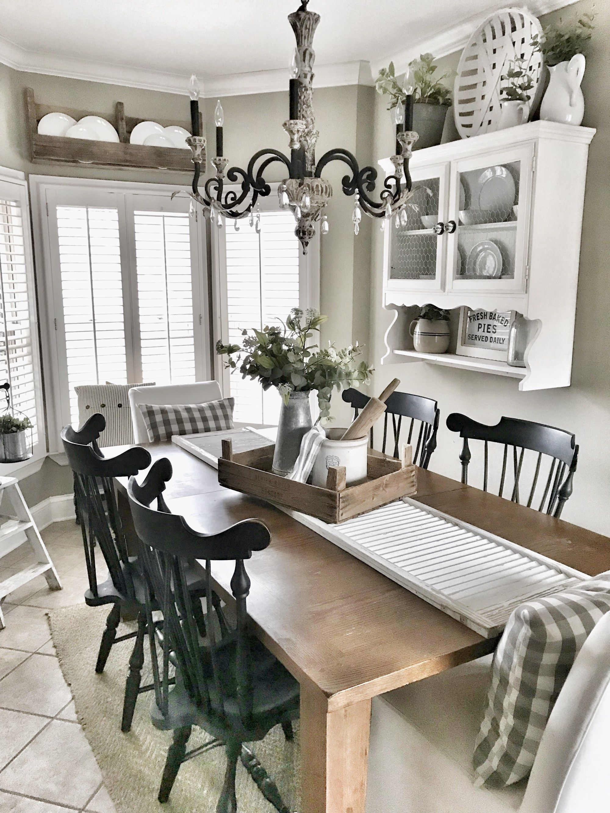 Chippy Shutter Table Runner | New home | Dining room table ...
