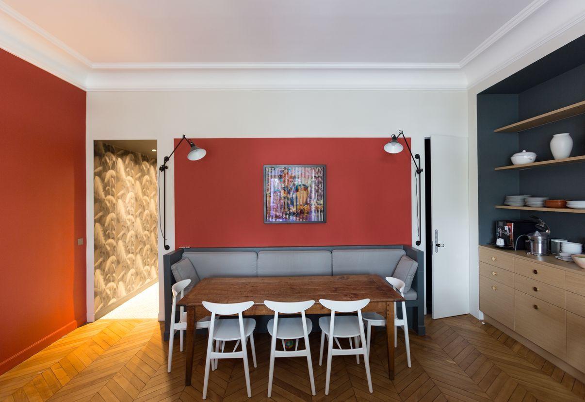 Arredamento Coin ~ Coin repas dans cuisine appartement parisien de m gcg