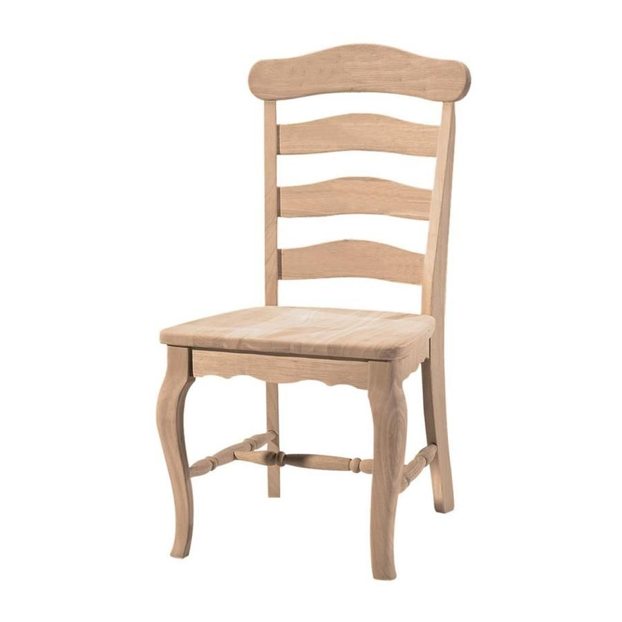 International Concepts Set of 4 Side Chair (Wood Frame) Lowes.com