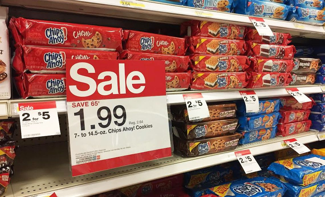 Save on Nabisco products at Target! Stack Cartwheel offers, coupons and rebate offers to score...