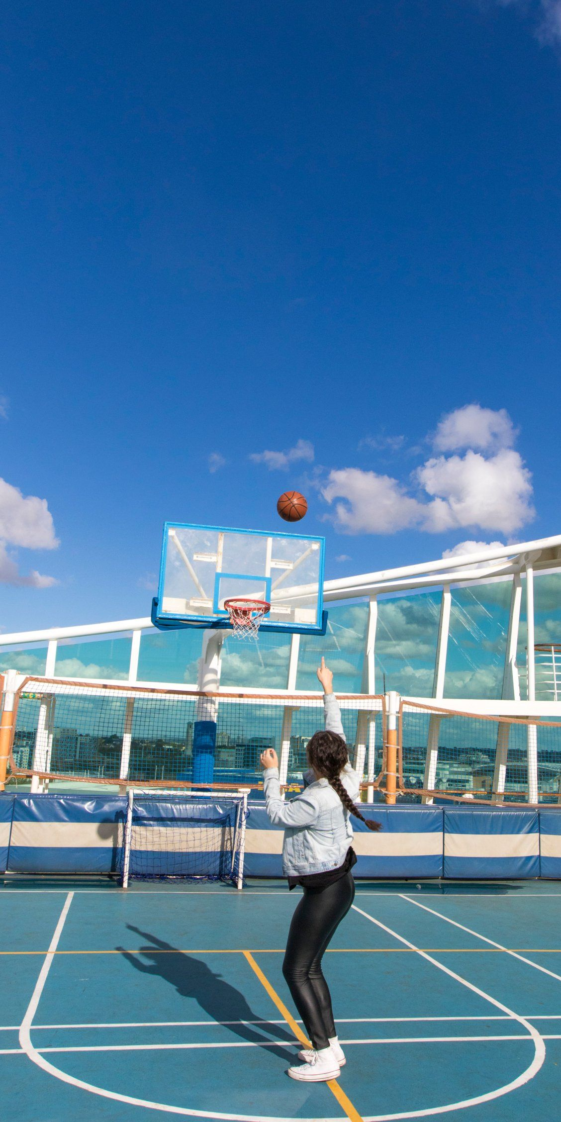 Navigator Of The Seas Whether It S A Quick Volleyball Match Or A Full Game Of Basketball We Ve Got You Cove Basketball Workouts Basketball Basketball Plays