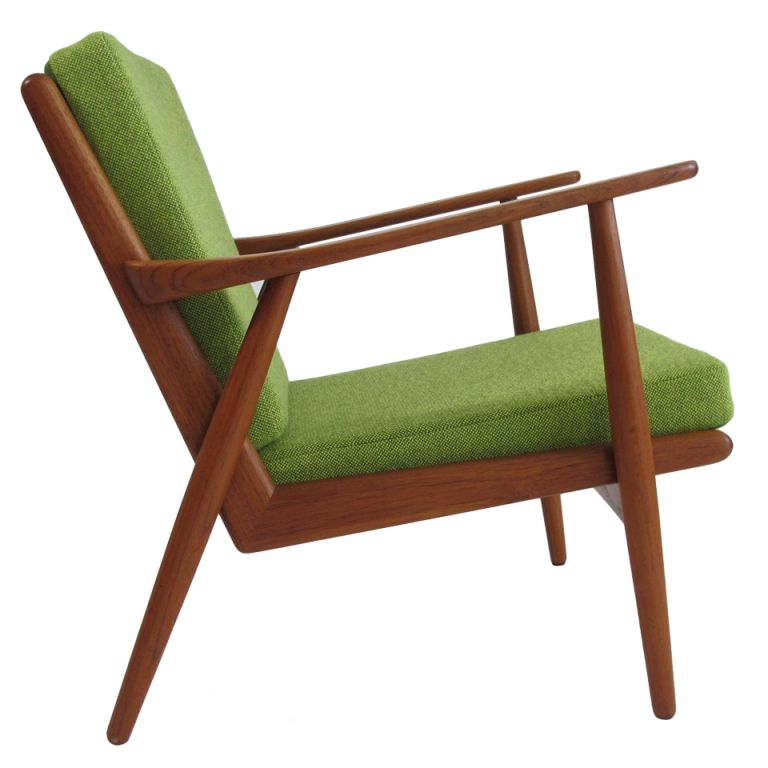 ingenious idea mid century side chair. Mid Century Danish Teak Lounge Chair  even like the color