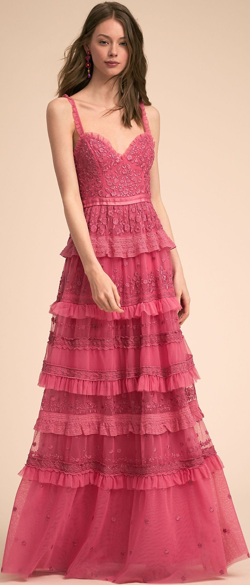 Bhldn Occ\' Coll\' \'18. | DRESSES | Pinterest | Gowns, Marchesa and ...